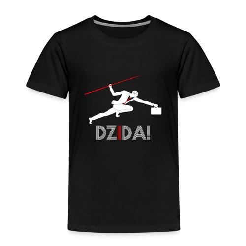 Dzida_wzor_bialy - Koszulka dziecięca Premium