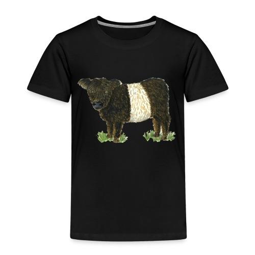 Beltie Belted Galloway Cow - Kids' Premium T-Shirt