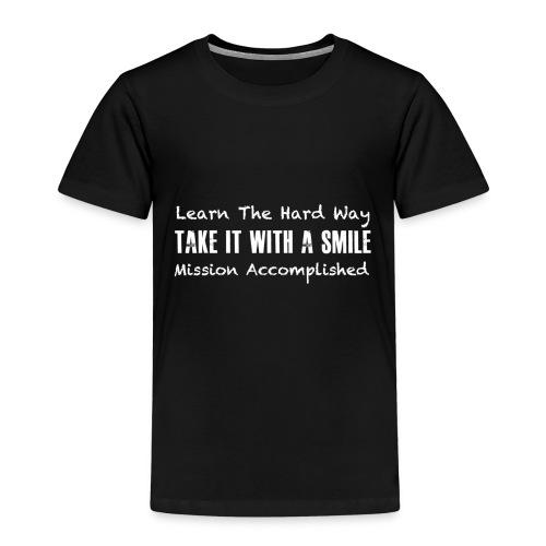MIssion Accomplishd - T-shirt Premium Enfant