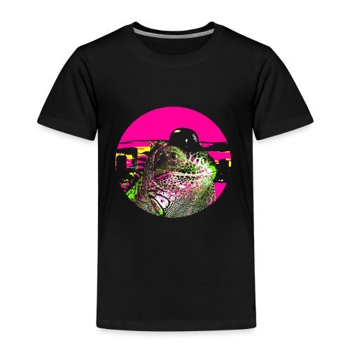 Cityboy Iguana - Kids' Premium T-Shirt