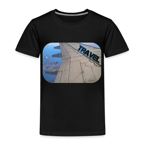 Reisen (Travel) Flugzeug - Kinder Premium T-Shirt