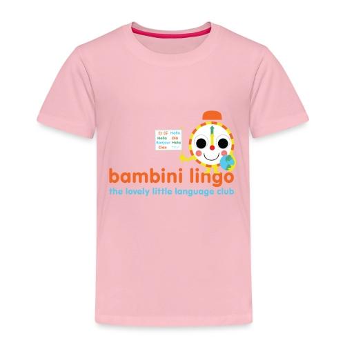 bambini lingo - the lovely little language club - Kids' Premium T-Shirt