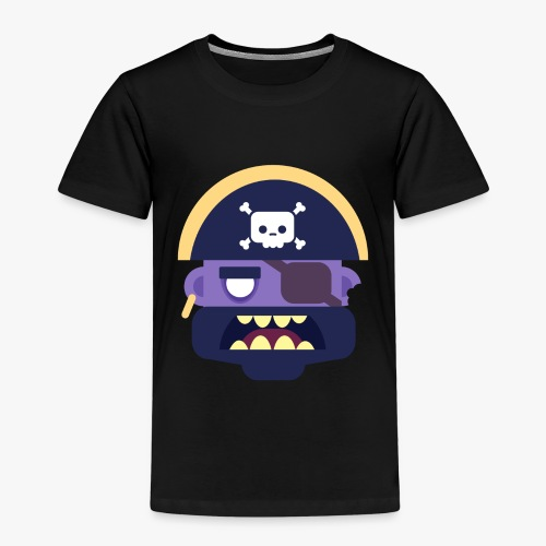 Mini Monsters - Captain Zed - Børne premium T-shirt