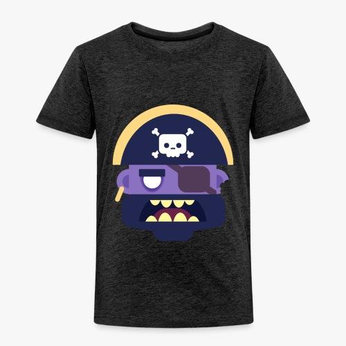 Mini Monsters - Captain Zed - Børne premium T-shirt