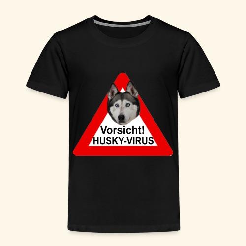 huskyvirus 1 - Kinder Premium T-Shirt