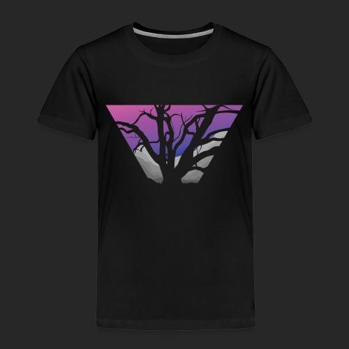 Purple Branches - Kids' Premium T-Shirt