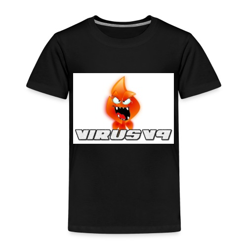 Virusv9 Weiss - Kinder Premium T-Shirt