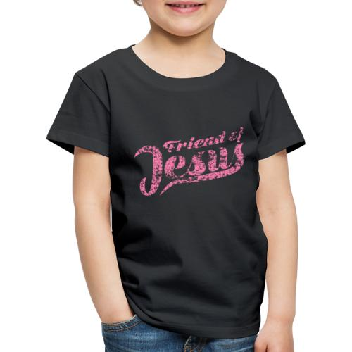 Friend of Jesus rosa - Kinder Premium T-Shirt