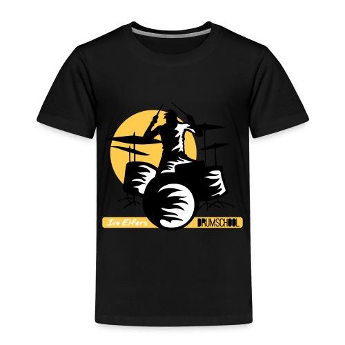 logo ivo Elfers drummer - Kinderen Premium T-shirt