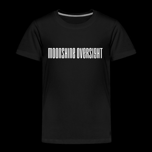 moonshine oversight blanc - T-shirt Premium Enfant