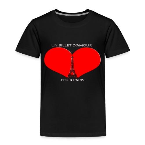 UBP PARIS LOGO ROUGE - T-shirt Premium Enfant