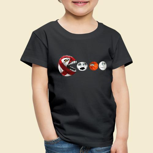 Radball | Cycle Ball RedMan - Kinder Premium T-Shirt