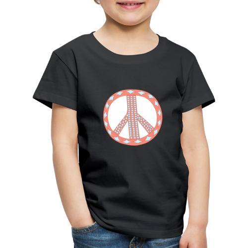 Pinky peaceful violence-0 - Kids' Premium T-Shirt