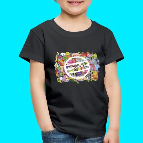 maglia logo doodle - Maglietta Premium per bambini