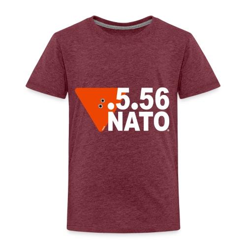 .5.56 NATO BLANC - T-shirt Premium Enfant
