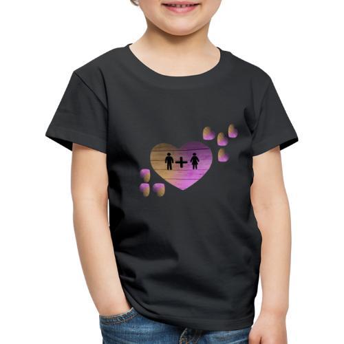 couple amoureux - T-shirt Premium Enfant