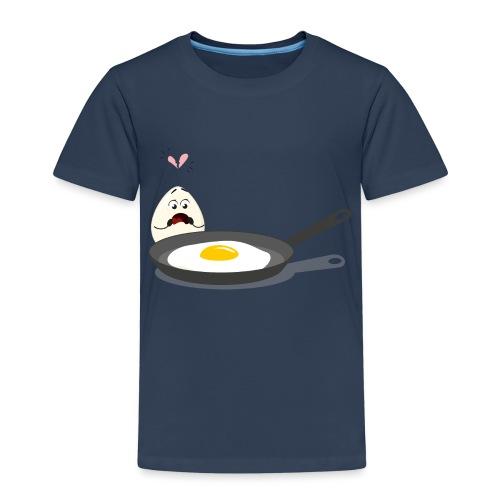 Broken Love, Eier, Liebespaar - Kinder Premium T-Shirt