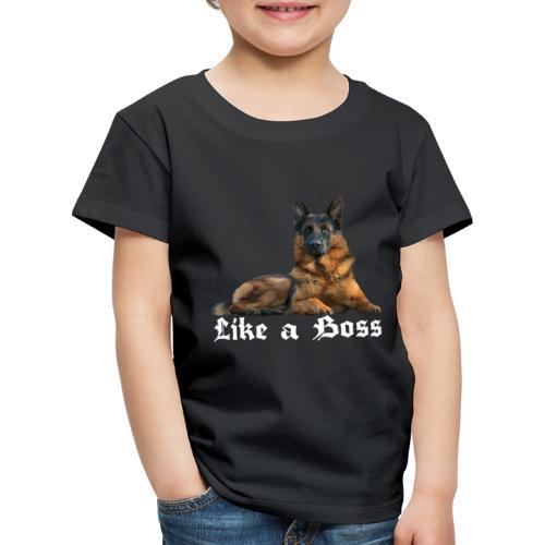 Schäferhund,Hundesport,Deutscher Schäferhunde, - Kinder Premium T-Shirt