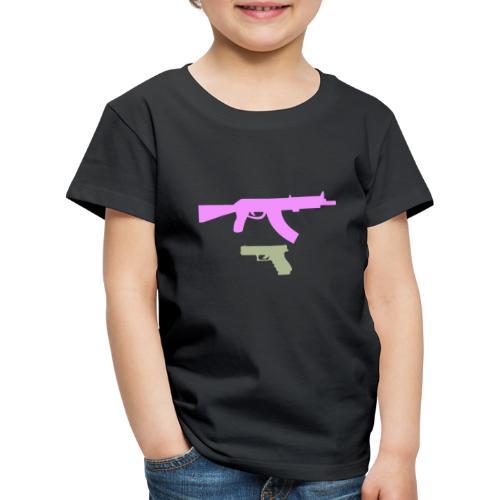PINK GUN - Koszulka dziecięca Premium