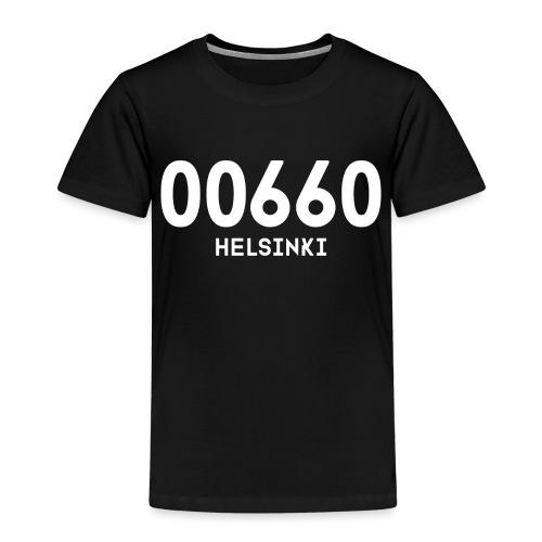00660 HELSINKI - Lasten premium t-paita