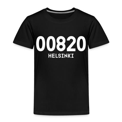 00820 HELSINKI - Lasten premium t-paita