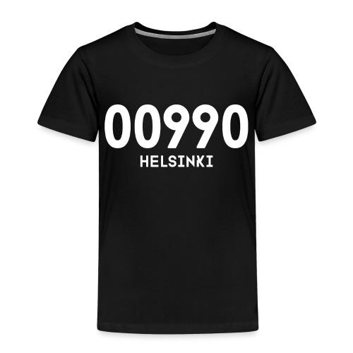 00990 HELSINKI - Lasten premium t-paita