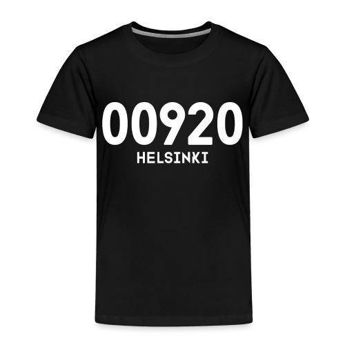 00920 HELSINKI - Lasten premium t-paita
