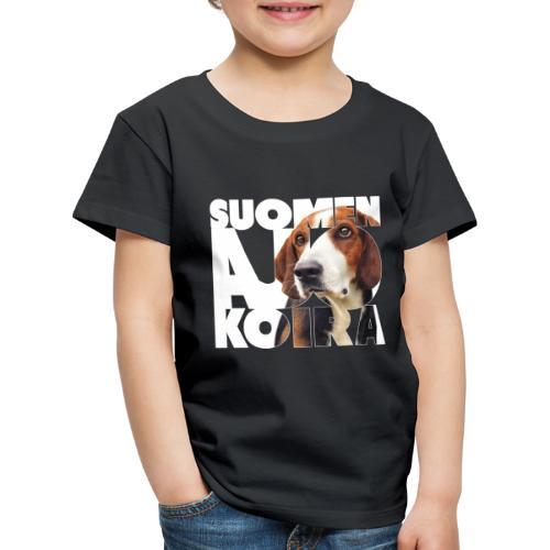 Suomenajokoira I - Lasten premium t-paita