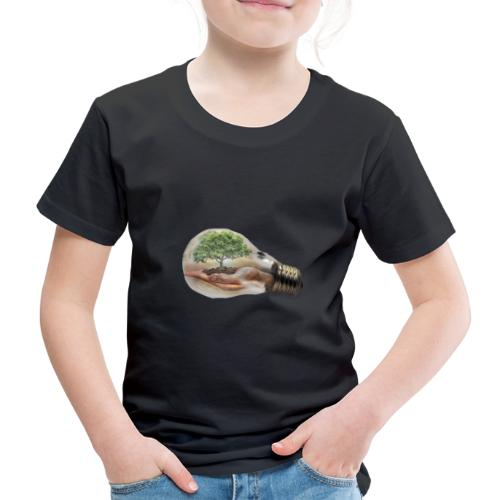 Baum und fliege in einer Glühbirne Geschenkidee - Kinder Premium T-Shirt