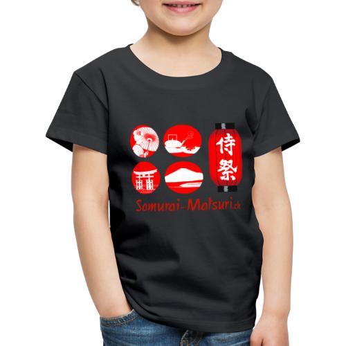 Samurai Matsuri Festival - Kinder Premium T-Shirt