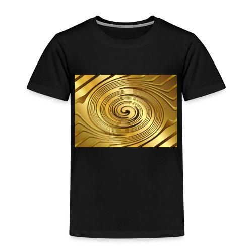 spirale d'oro - Maglietta Premium per bambini