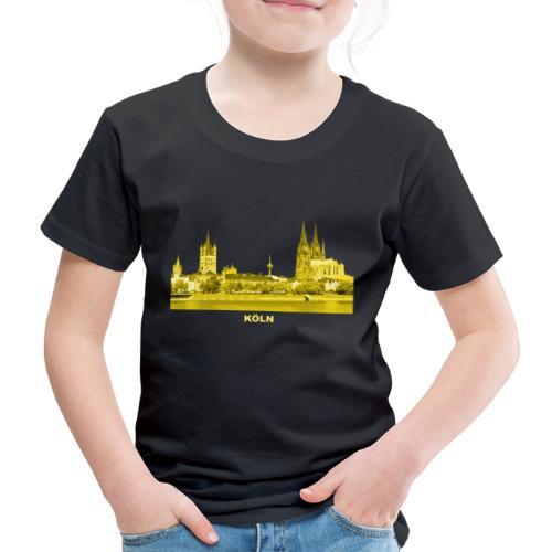 Köln Dom Rhein Nordrhein-Westfalen Deutschland - Kinder Premium T-Shirt