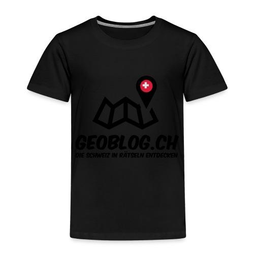 Logo+Schriftzug-hoch - Kinder Premium T-Shirt