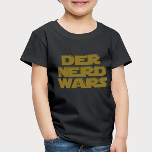der nerd wars - Kinder Premium T-Shirt