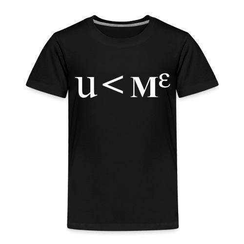 Less Than Me - Kids' Premium T-Shirt