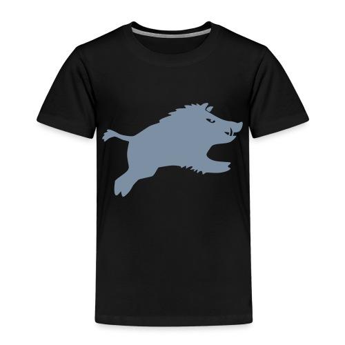 Schwein springt 2015 - Kinder Premium T-Shirt