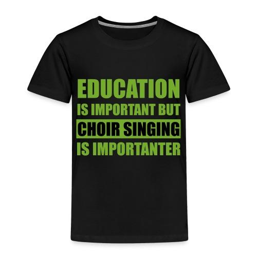 education - Kinder Premium T-Shirt