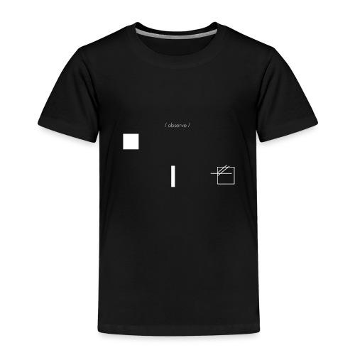 /obeserve/ sweater (M) - Premium T-skjorte for barn