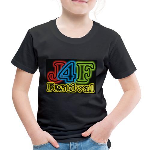 Just4Fun Festival Logo Schwarz - Kinder Premium T-Shirt