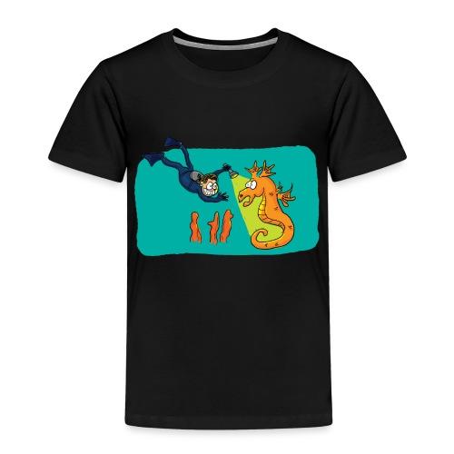 Rencontre sous-marine - T-shirt Premium Enfant