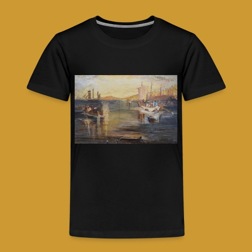 White Fishing - Mark Noble Art - Kids' Premium T-Shirt