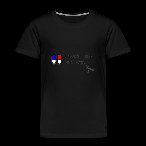Matrix RED PILL - T-shirt Premium Enfant