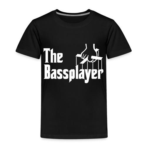 The Bassplayer - Camiseta premium niño