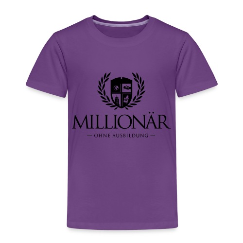 Millionär ohne Ausbildung Jacket - Kinder Premium T-Shirt