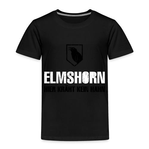 Elmshorn Kraehe schwarz-weiß - Kinder Premium T-Shirt