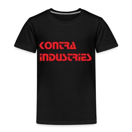 Kontra Industries Red GROß - Kinder Premium T-Shirt