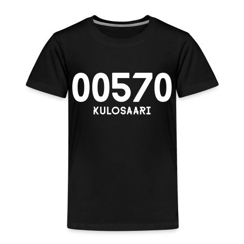00570 KULOSAARI - Lasten premium t-paita