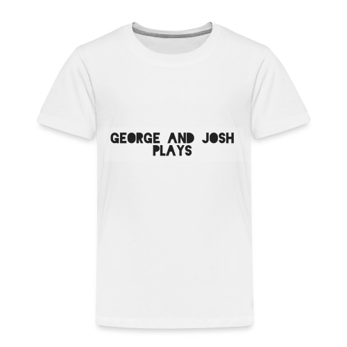 George-and-Josh-Plays-Merch - Kids' Premium T-Shirt