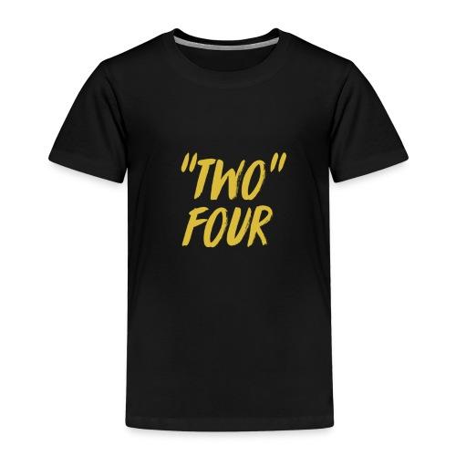 Two four logo design - Kids' Premium T-Shirt