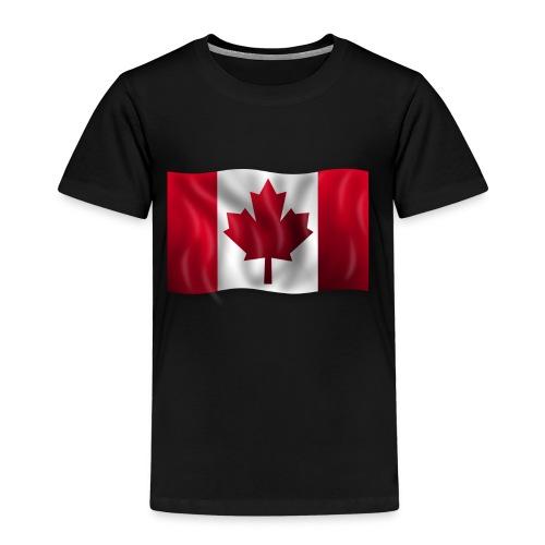 Canada Kanada Flagge cool stylish - Kinder Premium T-Shirt